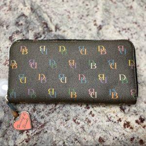 Dooney & Bourke Rainbow Wallet